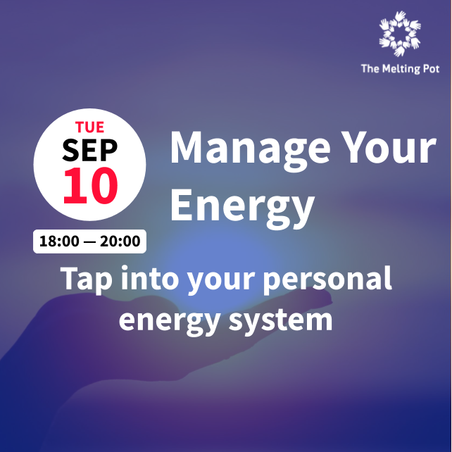 Manage Your Energy Workshop