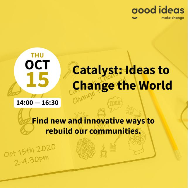 Catalyst | Ideas to Change the World