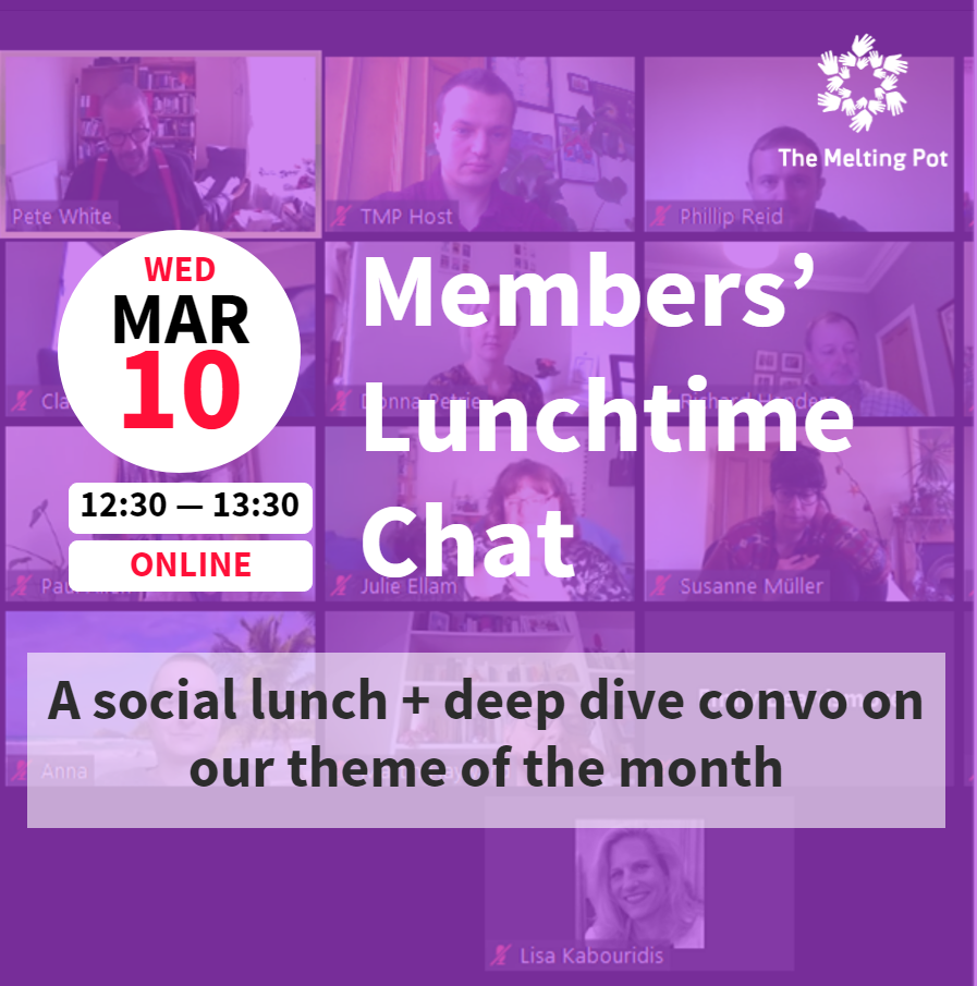 Members' Lunchtime Chat