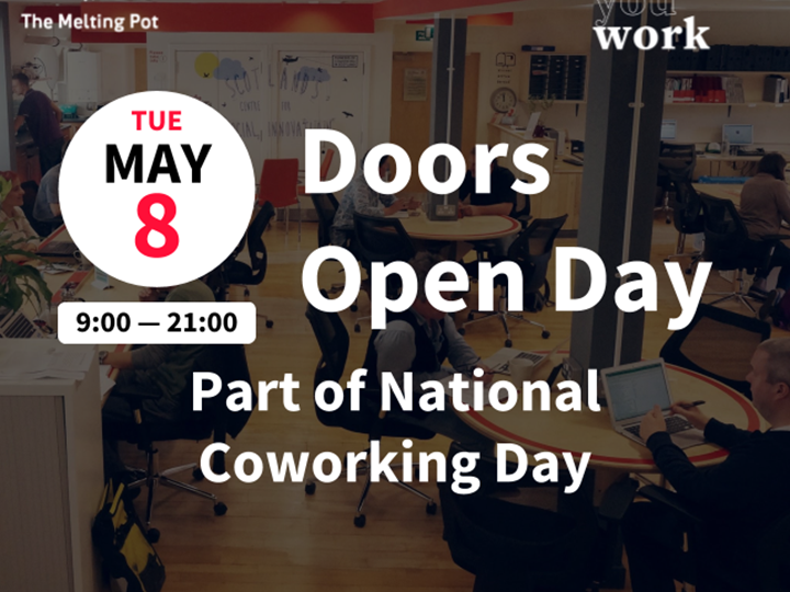Doors Open - part of National Coworking Day