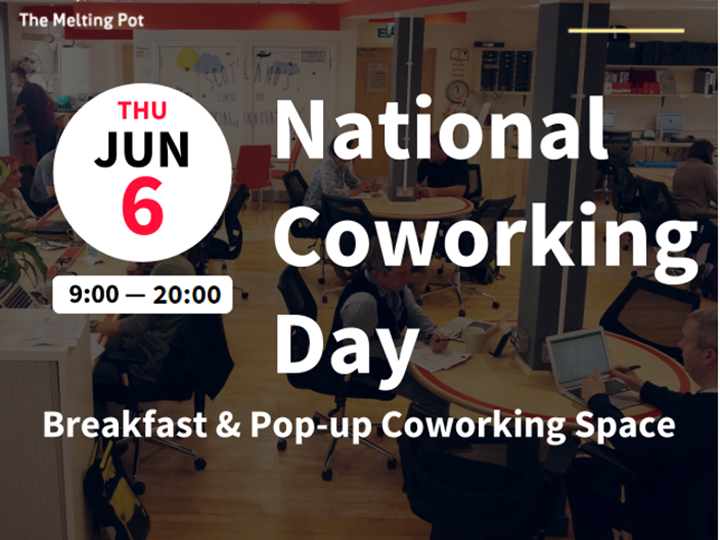 Cowork @ TMP on National Coworking Day